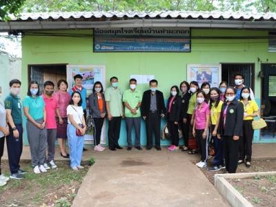 สพป.ลพบุรี เขต 2 ออกตรวจเยี่ยมโรงเรียนเพื่อให้กำลังใจ แก่ผู้บริหารและคณะครู และติดตามการดำเนินงานการจัดการเรียนการสอนในสถานการณ์การแพร่ระบาด ของเชื้อไวรัสโคโรนา2109 ในวันเปิดเรียนภาคเรียนที่ 1 ปี 2563