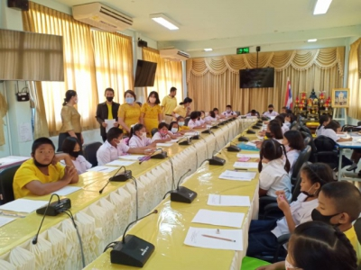 จัดการแข่ง ขันทักษะความสามารถทางภาษาไทย โดยมีนักเรียนตั้งแต่ระดับ ชั้นประถมศึกษาปีที่ 1 จนถึงระดับชั้น มัธยมศึกษาตอนต้น