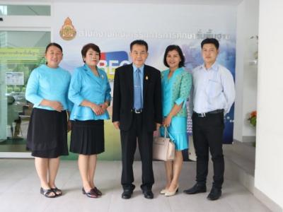 """ร่วมบันทึกวีดีทัศน์เพื่อให้สัมภาษณ์การจัดกิจกรรม การเปิดอบรมการพัฒนาความรู้ ปีทองการพัฒนา ภาษาไทย """"โครงการเทิดไท้องค์ราชันย์ ถวายองค์ราชา พัฒนาการอ่านเขียนเต็มร้อย"""" ปีทองการ พัฒนาคุณภาพภาษาไทย  ในรายการ พุทเช้าข่าว สพฐ."""
